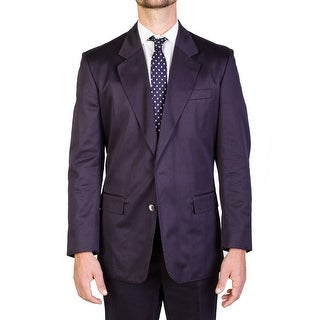 Yves Saint Laurent Men's Wool Two-Button Suit Blue