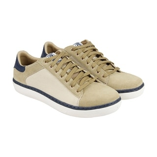 Skechers Palen - Renden Mens Tan Suede Lace Up Sneakers Shoes