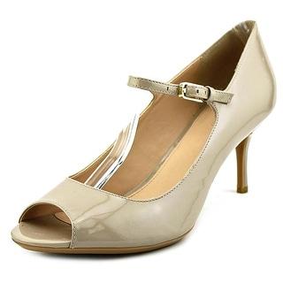 Calvin Klein Leila Women Open-Toe Synthetic Heels