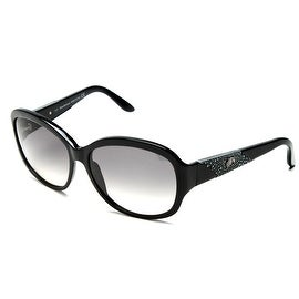 John Galliano Women's Oversized Frame Sunglasses Black - Small