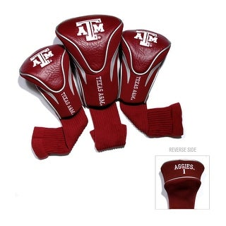 Texas A&M University Contour Sock Headcovers (3 pack)