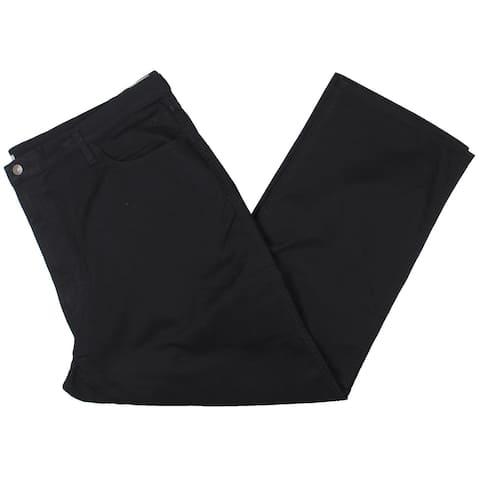 Dockers Mens Big & Tall Chino Pants Classic Fit Office - Black