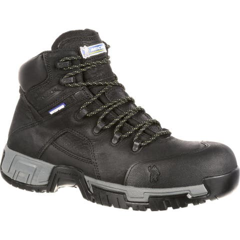 Michelin® HydroEdge Waterproof Steel Toe Puncture-Resistant Work Boot, XHY866