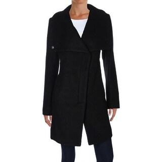 Jessica Simpson Womens Coat Wool Blend Asymmetric