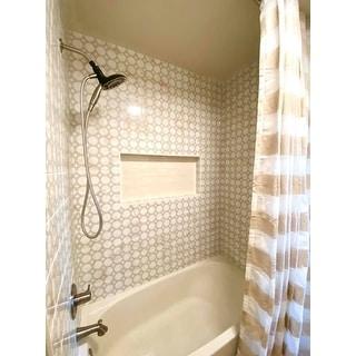 "SAFAVIEH Rafina Linen Cotton Blend 96 Inch Single Curtain Panel - 52"" W x 96"" L"