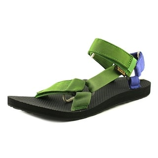 Teva M Original Universal Men Open-Toe Canvas Green Sport Sandal|https://ak1.ostkcdn.com/images/products/is/images/direct/443a02623e76c6bba111d474d84c5e95d1438b3f/Teva-M-Original-Universal-Men-Open-Toe-Canvas-Green-Sport-Sandal.jpg?impolicy=medium