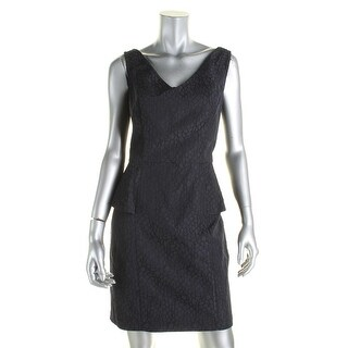 American Living Womens Wear to Work Dress Jacquard Sleeveless