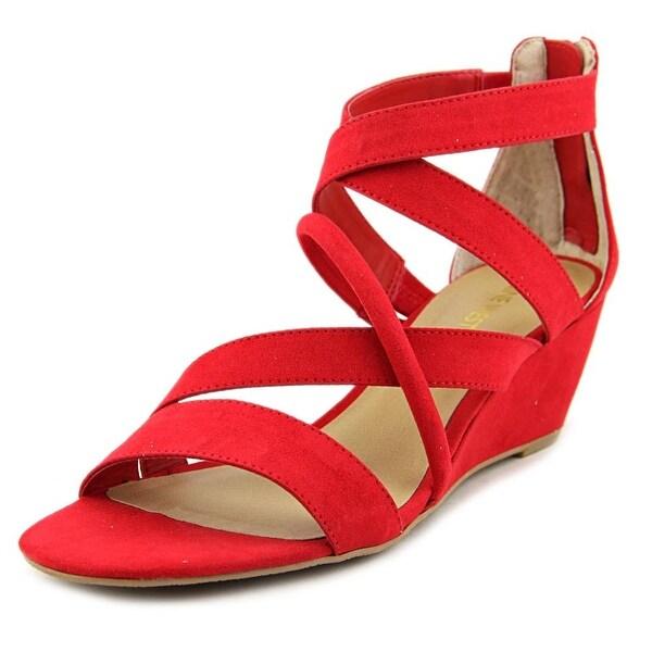 Nine West Hazel Open Toe Canvas Gladiator Sandal