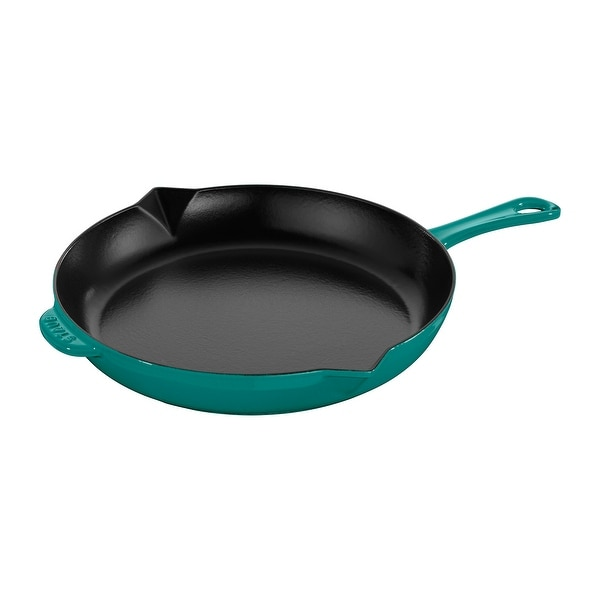 Staub Cast Iron 10-inch Fry Pan. Opens flyout.