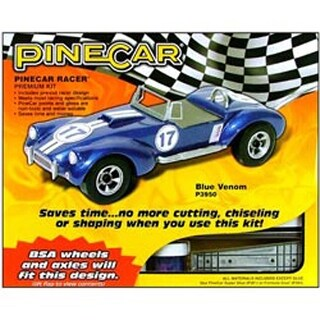 Blue Venom - Pine Car Derby Racer(R) Premium Kit