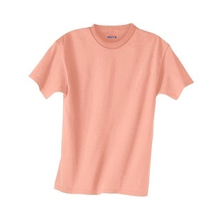 Hanes Kids' Beefy-T T-Shirt - Size - XS - Color - Candy Orange