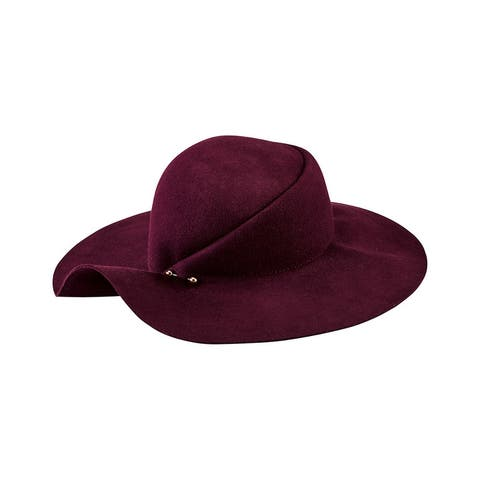 San Diego Hat Company Pleated Crown Floppy Hat - NoSize
