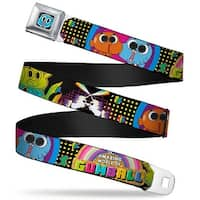 Gumball Face Close Up Black Full Color The Amazing World Of Gumball & Seatbelt Belt