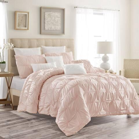 Esca Aspen Fabric Polyester 7PC Comforter Set