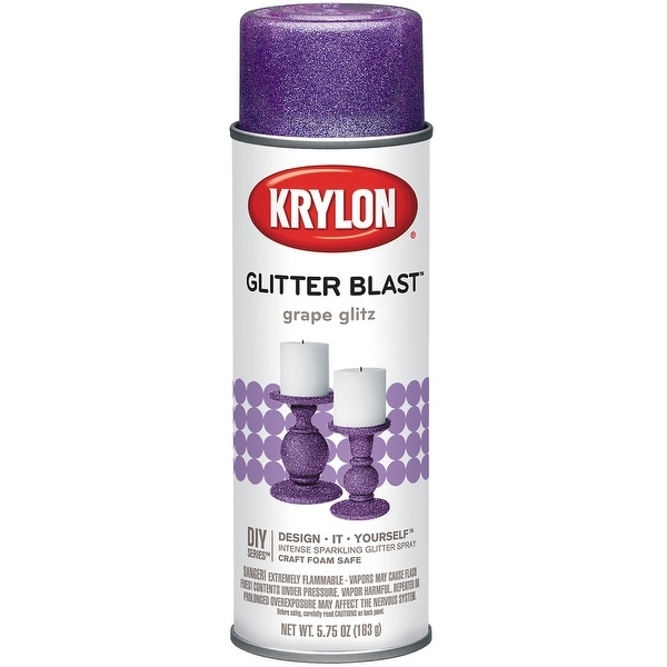 Glitter Blast Aerosol Spray 5.75oz-Grape Glitz