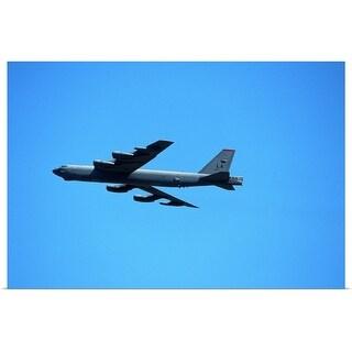 """B 52 in flight"" Poster Print"