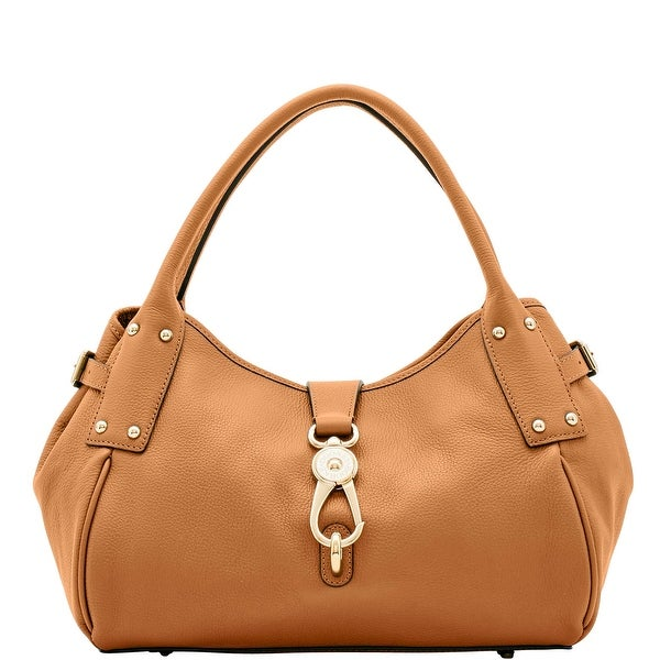 Dooney & Bourke Belvedere Medium Logo Lock Satchel (Introduced by Dooney & Bourke at $348 in Apr 2018)