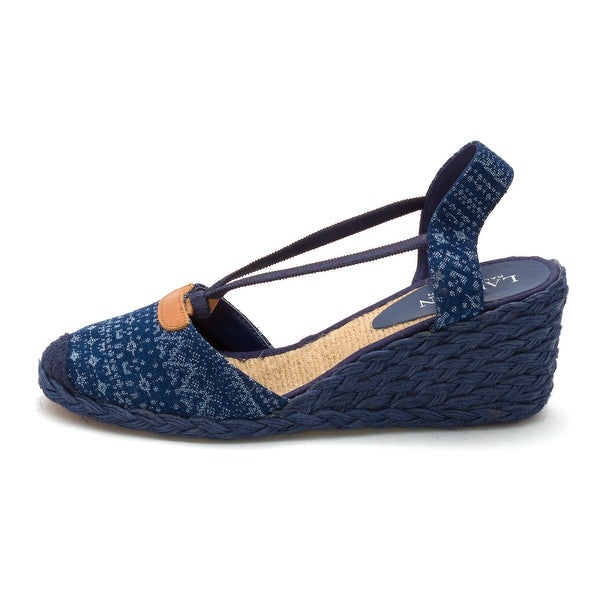 Ralph Lauren Womens Cala Closed Toe Casual Platform Sandals
