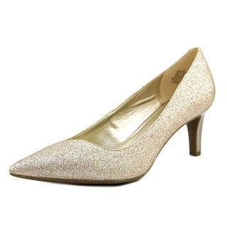 Anne Klein Barb Pointed Toe Synthetic Heels