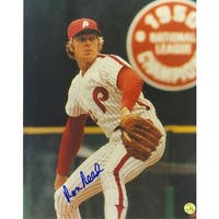 Autographed Ron Reed Philadelphia Phillies 8x10 Photo