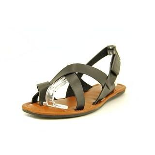 Mia Shore Women Open-Toe Synthetic Slingback Sandal