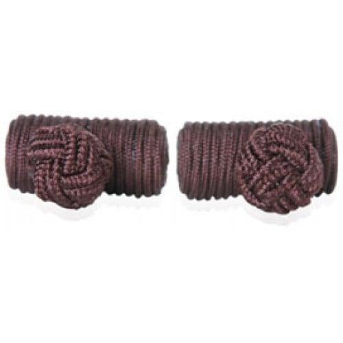 Brown Silk Knots
