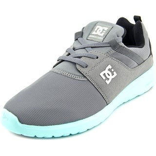 DC Shoes Heathrow Round Toe Canvas Skate Shoe