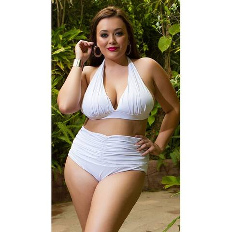 Yandy Plus Size Essential Bikini Bottom