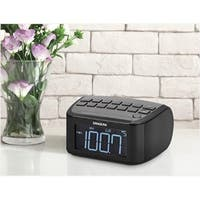 Sangean RCR-24 FM & AM Aux-in Digital Tuning Clock Radio - Black