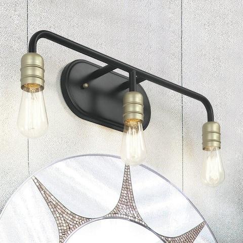 3 Light 23 Inch Modern Farmhouse Rustic Bathroom Vanity Lights