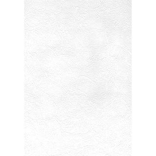 Brewster 2780-67473  Paintable Solutions V 56-3/8 Sq. Ft. - Cale Slap Trowel Plaster - Pre-Pasted Vinyl Wallpaper - - White