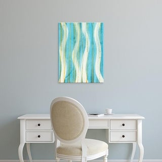 Easy Art Prints Allison G. Miller's 'Carousing with Lines II' Premium Canvas Art