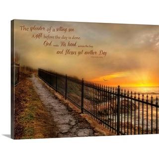 """God's Gift"" Canvas Wall Art - Multi"