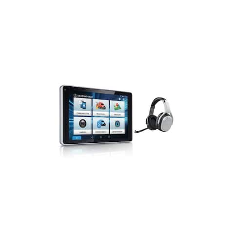 Refurbished Rand McNally OverDryve 7 Pro with Inbuilt Dashcam Truck GPS Plus Tablet with Headset