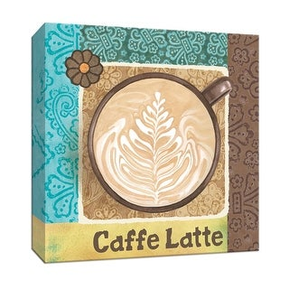 "PTM Images 9-153523  PTM Canvas Collection 12"" x 12"" - ""Caffe Latte"" Giclee Coffee, Tea & Espresso Art Print on Canvas"
