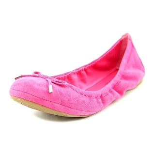 Marc Fisher Cappy Women Round Toe Suede Ballet Flats