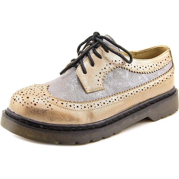 Dirty Laundry Machete Women Wingtip Toe Synthetic Oxford