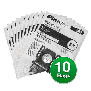 EnviroCare Replacement Vacuum Bag for Miele S140 / S142 / S143 Vacuums - 2 Pack