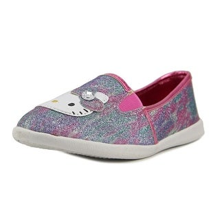 Hello Kitty Krissy Youth Round Toe Synthetic Purple Loafer (Option: 2)