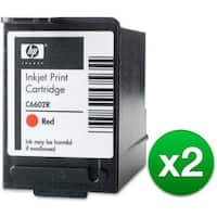 HP Red POS Ink Cartridge High Yield (C6602R) (2-Pack)