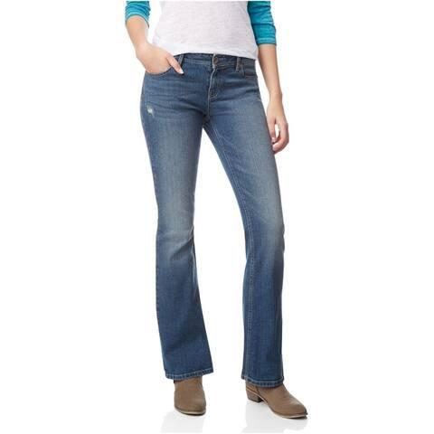 Aeropostale Womens Chelsea Boot Slim Fit Jeans