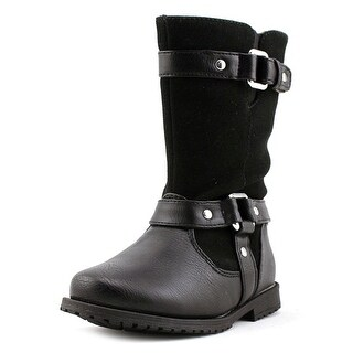 Rachel Shoes Lil Cortland Round Toe Synthetic Boot