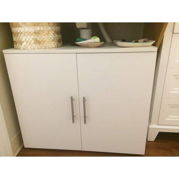 Shop Costway Non Pedestal Under Sink Bathroom Storage Vanity Cabinet Space  Saver Organizer   Free Shipping Today   Overstock.com   18739762