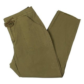 Link to Guess Womens Anya Cargo Pants Casual Solid - Sergeant Green Multi Similar Items in Pants