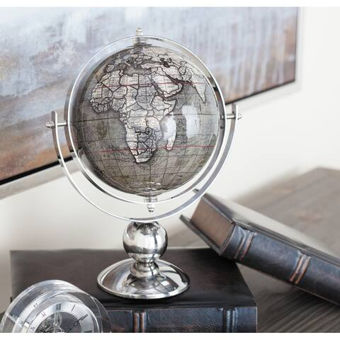 Stainless Steel Traditional Globe - 9 x 7 x 11Round