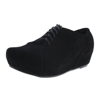 Antelope Womens Suede Flatform Derby Shoes