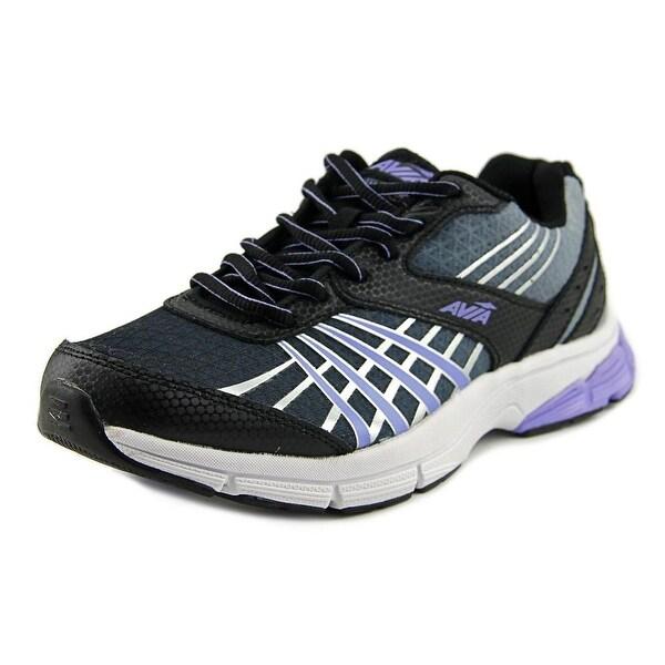 Avia Vault Women Round Toe Synthetic Black Running Shoe