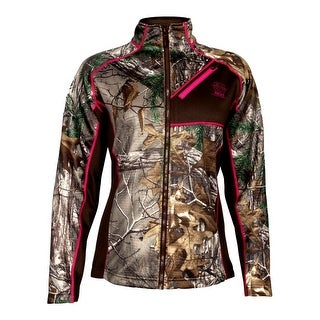 Rocky Outdoor Jacket Womens Athletic Mobility Fleece Realtree HW00132