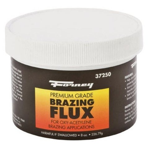 Forney 37250 Brazing Flux, 1/2 lbs