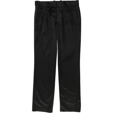 Alfani Mens Velvet Dress Pants Slacks